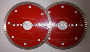 125mm/ 5inches diamond saw blade for ceramic/porcelain