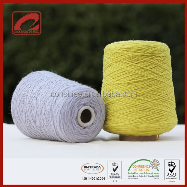 Hand knitted Commonly used Hand Knitting Wool Yarn for household blanket