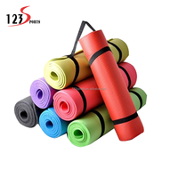 new hot selling products Wholesale Hot Yoga Products 15mm Thickness NBR Mat For Fitness OEM & ODM