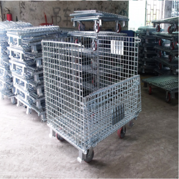warehouse seel storage cages