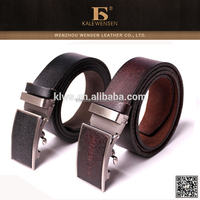 Wenzhou Unique Design genuine famous brand leather belts for men