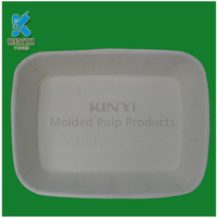 Biodegradable Pulp Molded Cat Litter Trays / Dog Litter Trays / Dog Pet Toilet Trays