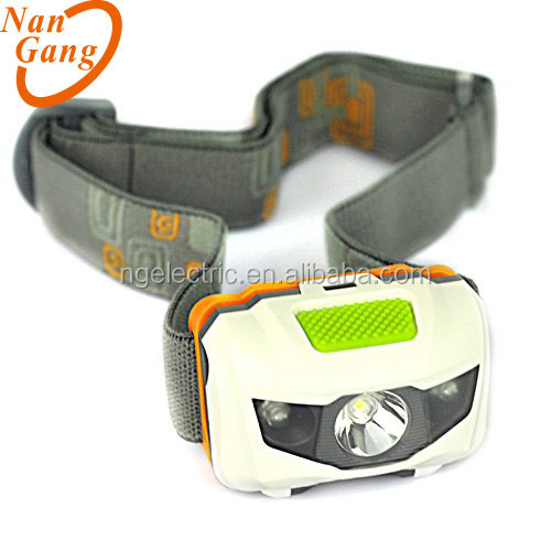LED Headlamp Flashlight for Camping - 110 Lumen - 3 AAAs Batteriesdjustable White, Red, and Flashing Light.