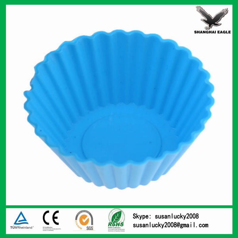 Food Grade Customized Flexbile DIY Silicone Baking Cake Pan (directly from factory)