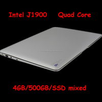 Cheap 14 Laptop Computer Notebook Celeron J1900 Quad Core 4G RAM 500G HDD Window 7/8 WIFI Webcam Portable Laptops PC 3 Color