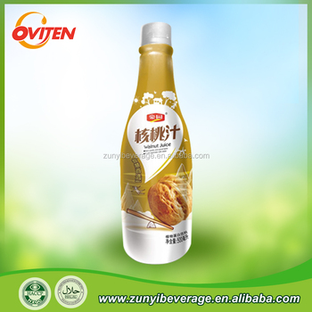1.25L Plastic Bottle Premium Health Fresh Squeezed Hot Filling Walnut Milk Drink