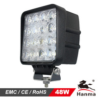 12/24V LED work light HML-1748, flood/spot, for Truck, tractor,trailer, offroad driving for Jeep,suv,atv,motorcycle,4X4car,IP67