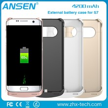 Mobile phone prices in dubai high quality phone case high capacity power bank for samsung galaxy s7 power case from Ansen