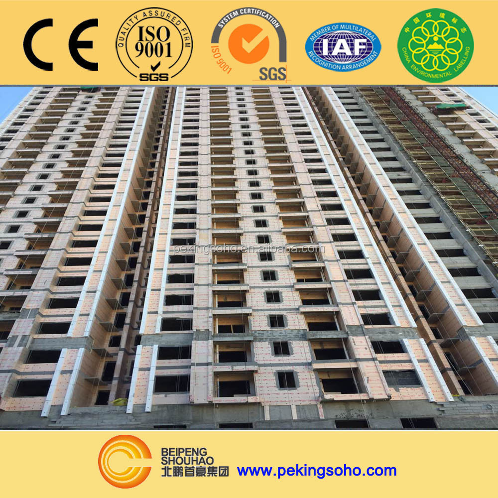 SUPERHOT home insulation extruded polystyrene xps foam board