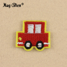 DIY cartoon little car design Embroidery clothing motorcycle vest patch