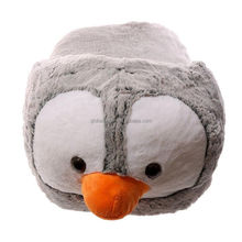 Plush Slipper Foot Warmer Plush Funky Penguin Design Unisex Footwarmer