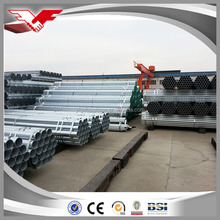 high quality BS 1139 Hot dip galvanized steel pipes with aluminium-killed steel