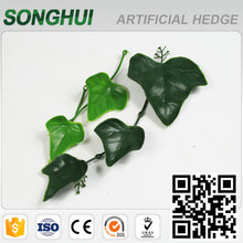 high simulated green grape artificial vine plants for walls decoration