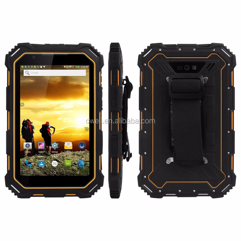 7 Inch NFC 4g lte IP68 Waterproof dust-proof shock-proof Android Rugged Tablet PC ALPS S933L