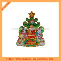 2014 hot sale 3D window christmas glitter picks sticker