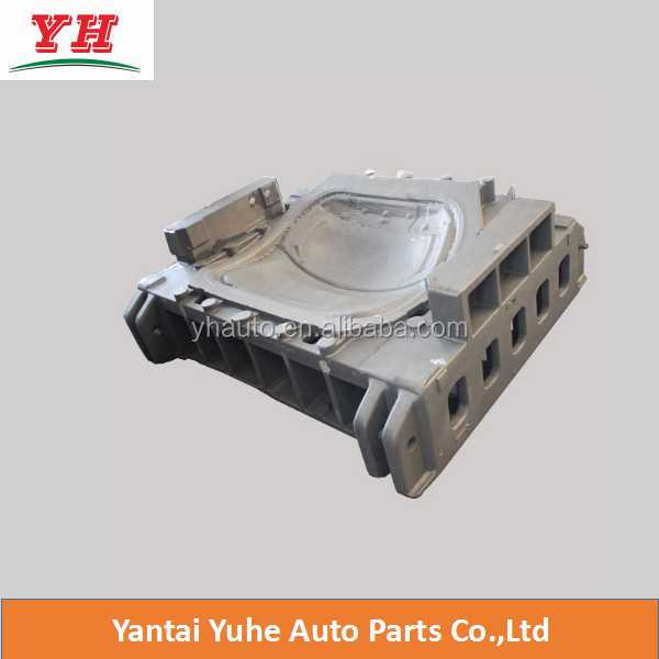 Advance automobile stamping parts die casting with CNC machining