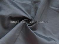 100% Polyester black silk plain imitation memory fabric for garment