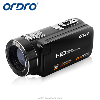 ORDRO Z8 Plus S ony CMOS sensor 64G SD card 16x digital zoom