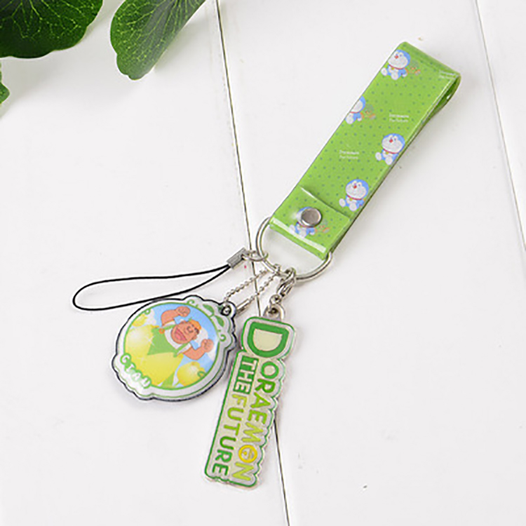 2017 best price high quality phone accessories japanese cute cartoon keychain on bag mobile phone phone charms