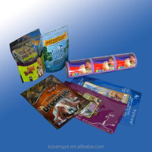 customized printed plastic ziplock food packaging bag for dried food, snack food, nuts, coffee,