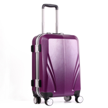 High quality PC ABS 360-degree swivel wheels aluminum trolley hard case luggage