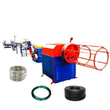 China PVC Gecoate Draad Making Machine