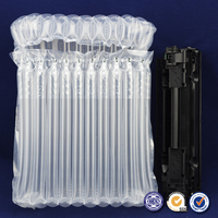 Plastic material air bubble packaging bag for cartridge protection packing 12 columns