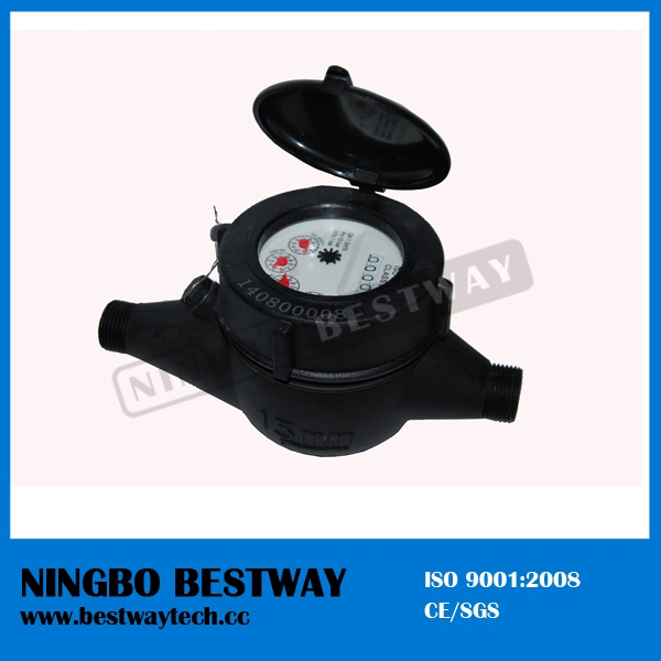 Plastic Dry Type Multi Jet Water Meter Ningbo China Factory