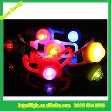 high power led bicycle light with string ,custom logo led silicone bicycle light