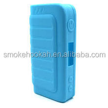 Non stick ipv4 100w vape mod silicone case, dust proof ipv 4 100w rubber sleeve/silicone box