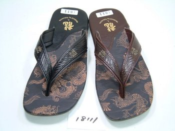 price dowm for falling in the exchange rate japanese dark dragon sandal for men 18111