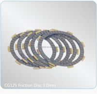 3.0mm Thickness Motorcycle Clutch Spare Parts CG125 Friction Disc