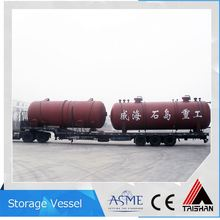New Coming 30 Tons Lpg Gas Cylinder Mounded Storage Bullet Tank Manufacturers