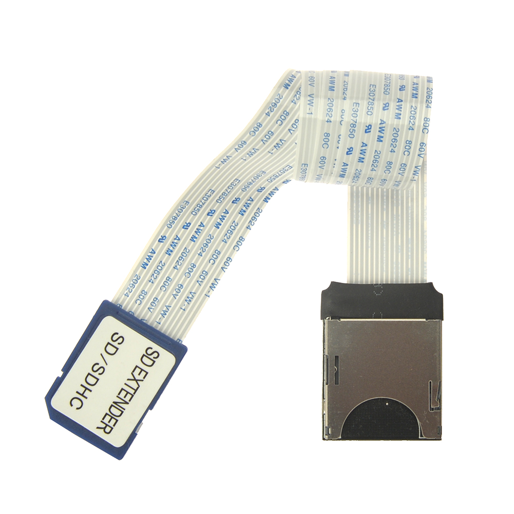 wholesale 25cm SD card extension cord 15Pin SD card cable adapter