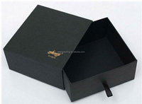 Recyclable Black Custom packaging Box