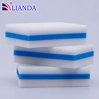 Cleans scuff marks and dirt from walls, floors and doors cleaning custom size magic eraser sponge melamine,