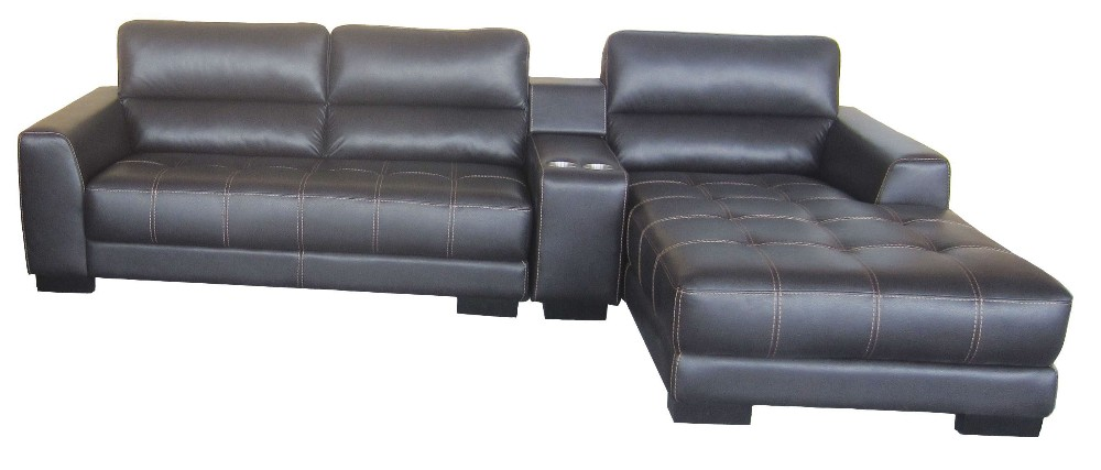 100 Top Grain Leather Sofa Set Sectional Leather Sofa L