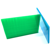 Safety and insulation pc plastic garden buildings honeycomb polycarbonate sheet