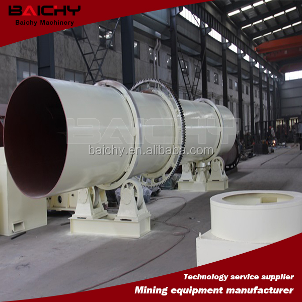 Metallic Sand Rotary Dryer / Industrial Dryer Machine for sale