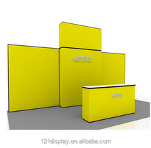 Kiosks folding booth display, exhibition booth display ,cosmetic display booth