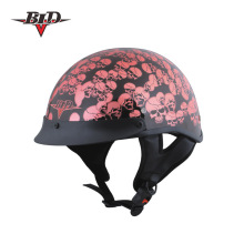 DOT Half Face Low Profile Scooter Helmet