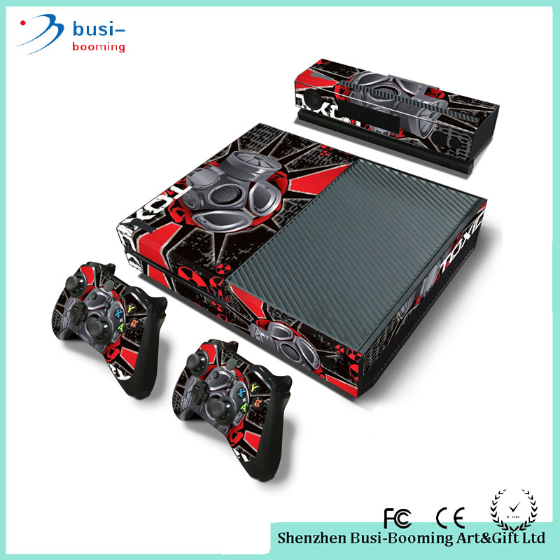 2016 Hot Sale New Controller Console And Controller Vinyl Cover Skin Vinyl Sticker For Xbox One Controller Console Decal