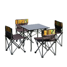Outdoor Furniture Garden Hideaway Dining Portable Folding Table And Chair Set