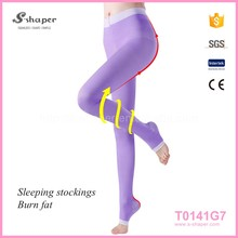 Women Tan Color Practice Wear Convertible Ballet Dance Tights Pantyhose