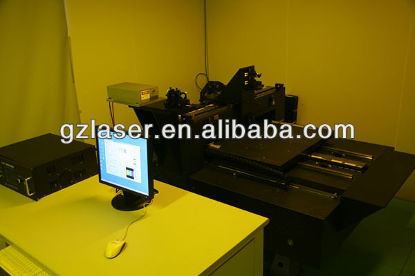 Dot matrix lithography machine, hologram master casting machine