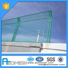 Plastic coated galvanzied welded metal steel fencing/welded wire mesh fence panels in 6 gauge