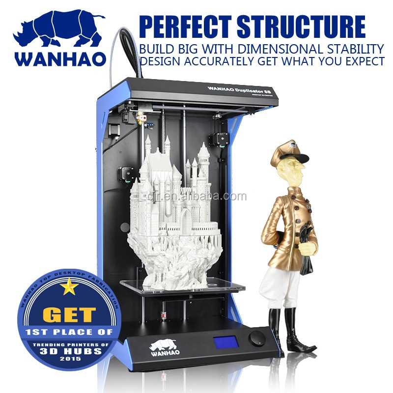 Environment-Friendly Wanhao Silkscreen Printing D5S Printer, Desktop 3d Printer