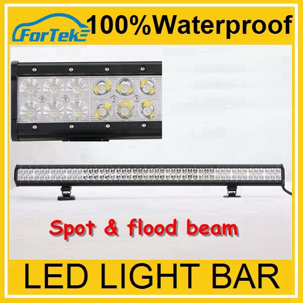 Best selling led light bar off road 288w