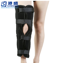High quality spandex neoprene leg knee support brace compression sleeve