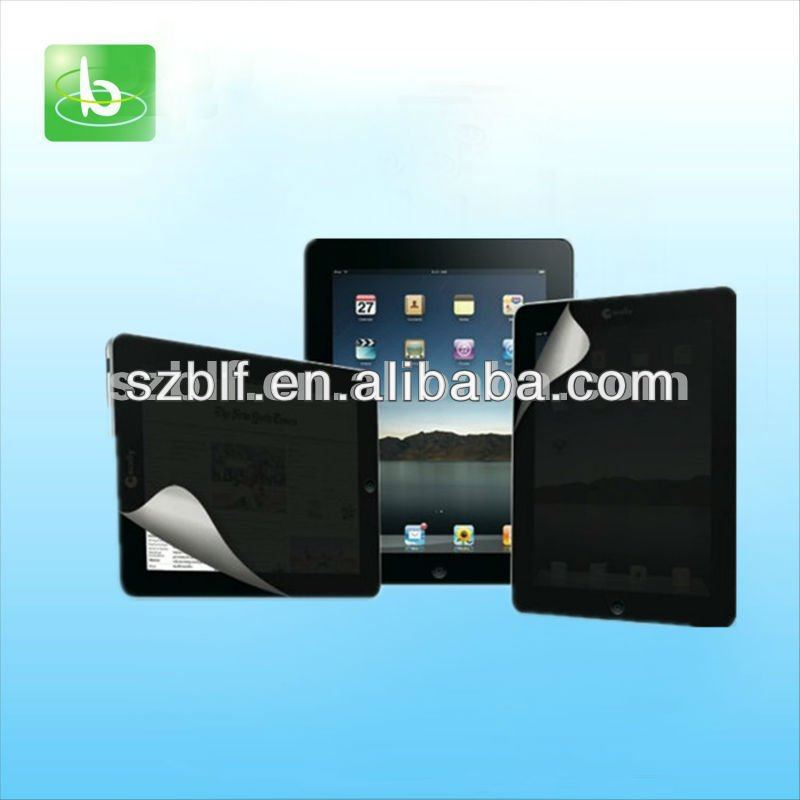 Japanese high quality privacy screen protector for ipad mini